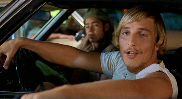 Right now, the only difference between me and Wooderson is that sweet mustache.