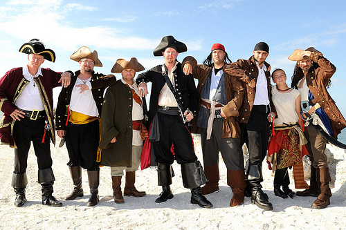Ever since the ban on gay marriage was lifted, the pirates think they can get the same treatment.  Marriage is not between a pirate and a pirate!  It says so in the Bible.
