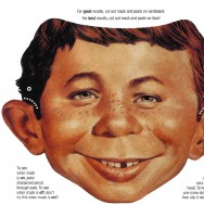Alfred Newman mask