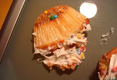 Oh, don't worry, I still ate that smashed cupcake.